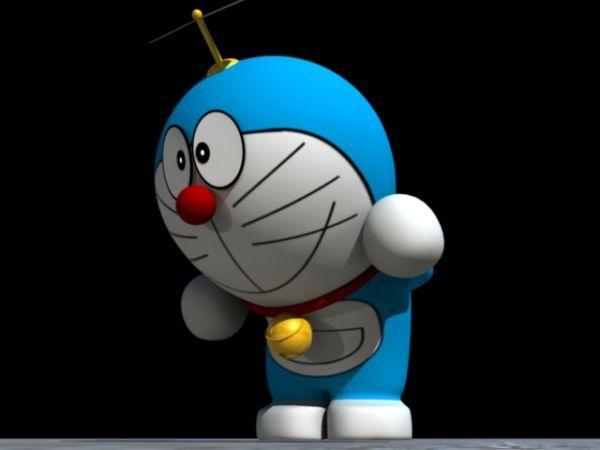 动漫《哆啦A梦》机器猫maya模型
