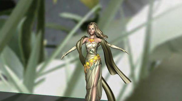 西方皇家贵族女人装扮模型下载