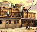 maya 建筑小场景模型适合做动画用~