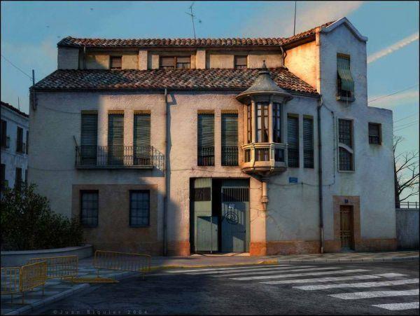 古老的欧式建筑风格模型下载