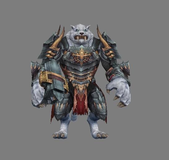 怪物猎人模型带贴图带OBJ格式