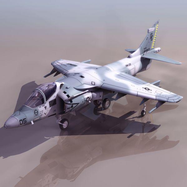 战斗机模型3D
