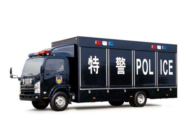 警车特警装备车模型下载