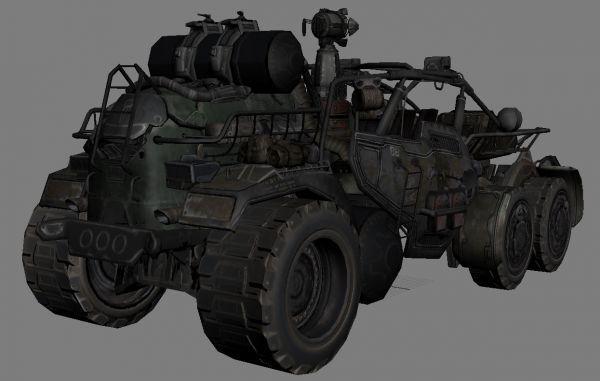 彪悍威猛的次时代战车模型