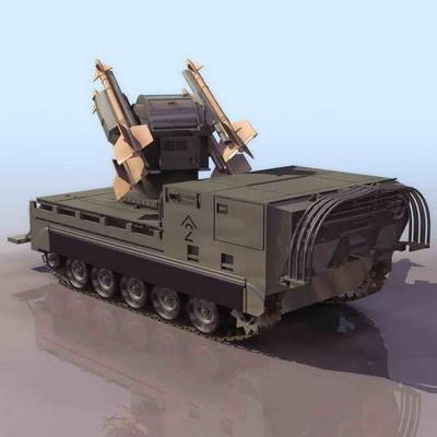 4种不同时代的装甲车模型下载