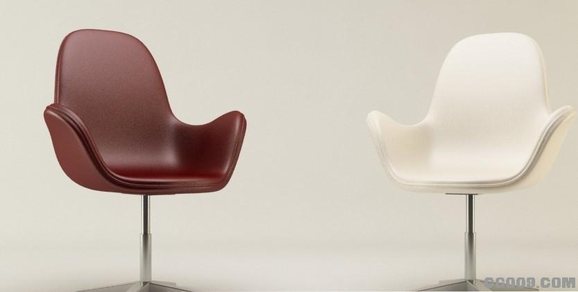 现在时尚椅子,真皮高档椅子模型下载!