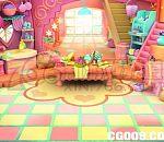 公主房间maya场景模型 卡通色彩丰富小女孩小屋