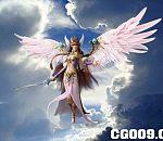 西方天使模型下载