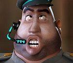 卡通胖警察MAYA模型已经绑定带表情动画