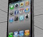 [手机3D模型] ip4手机模型下载  苹果手机3D模型下