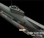 水下霸主核潜艇3D模型下载   3D核潜艇模型下载