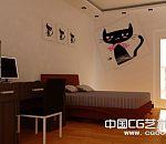 不同几套家装效果图  大厅 卧室  卫生间 模型下