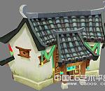 鹿鼎记客栈3D卡通场景模型下载