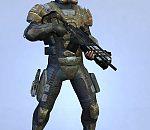 Deep Black 的主角3D模型下载  科幻战士模型下载