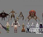 AION小集合_3D怪物+角色模型下载  希望有人喜欢吧