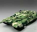 高精中国99试坦克模型下载  高模  带贴图
