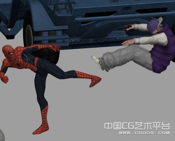 《蜘蛛侠》全套模型集合下载  3D模型