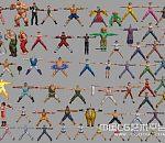 《街头拳王》全套3D角色模型下载