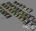 二战苏德美主要坦克模型