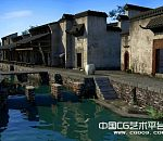 江南乌镇桐乡古镇3D场景模型下载