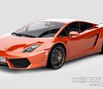 橙色兰博基尼Gallardo LP-550 2010款3D模型下载  带贴
