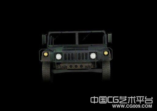 军用吉普车3D模型下载
