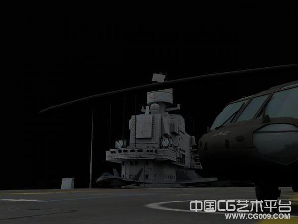 中国第一艘航母-辽宁号航母3D模型(又名瓦良格航