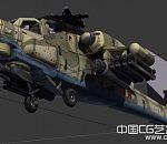 一批不同时代的战斗机直升机3D模型下载