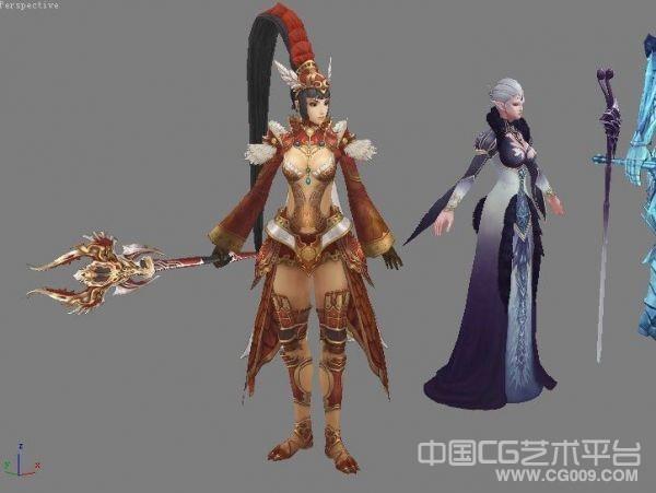 《天堂2》角色3D模型大集合下载 超值放送!