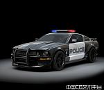 Barricade警车 Ford Mustang3D模型下载