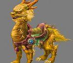 黄金麒麟3D模型下载