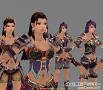 《神兵传奇》所有女主角模型集合下载