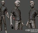 流浪武士作品3D模型下载