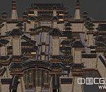 洛阳古城全貌3D建筑模型  洛阳城建筑模型