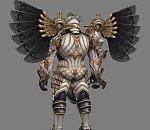 皇家卫队-盔甲战士3D模型下载