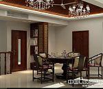 中式阁楼餐厅包厢室内3d模型下载