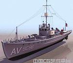 各种军用战舰大合集3d模型下载 军舰模型  战舰