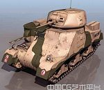 各式军用坦克.装甲车 军用车3D模型大合集