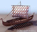 不同时期的船只3d模型下载  3d古船模型  3d货船模