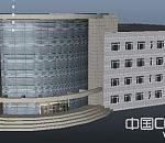 大型厂房公司建筑模型下载