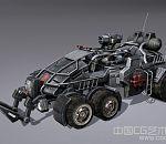 科幻军用装甲车3d模型下载