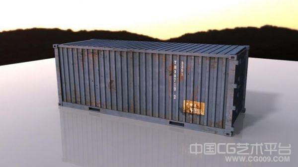 不错的集装箱maya模型 带高清贴图