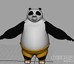 功夫熊猫-阿宝maya动画角色模型下载