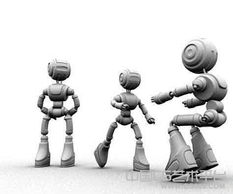 不错的机器人maya模型下载
