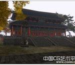 佛门修真之地-天音寺3d大型场景模型下载