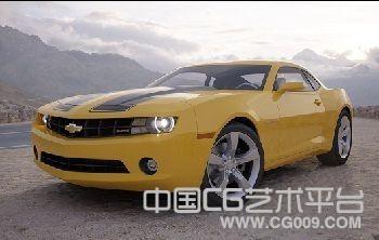 大黄蜂雪佛兰汽车3D模型下载