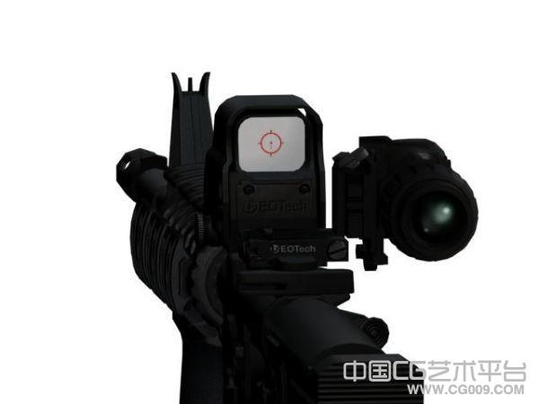 辐射:新维加斯高清MOD武器-雷明顿M4枪支