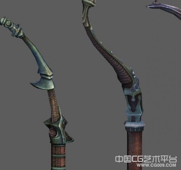 经典至尊!tera武器大全----弓模型合集!贴图非