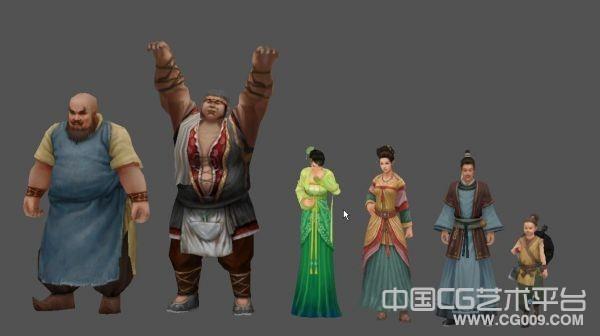 剑三经典角色模型 男女老少角色合集下载