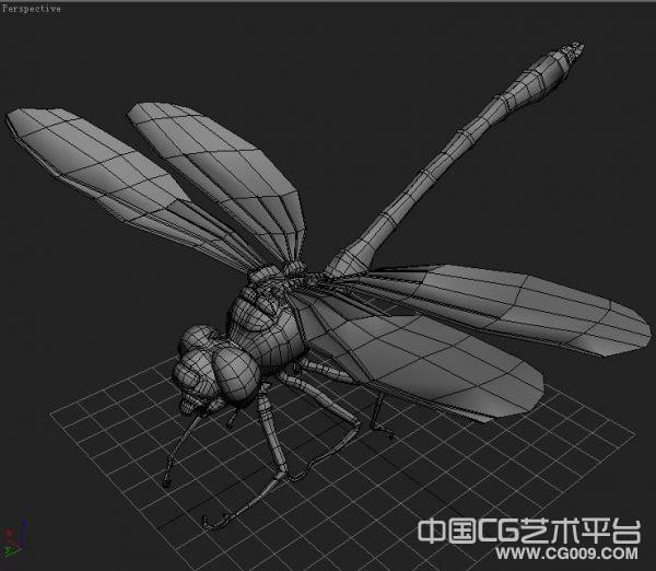 非常写实的3d蜻蜓模型下载